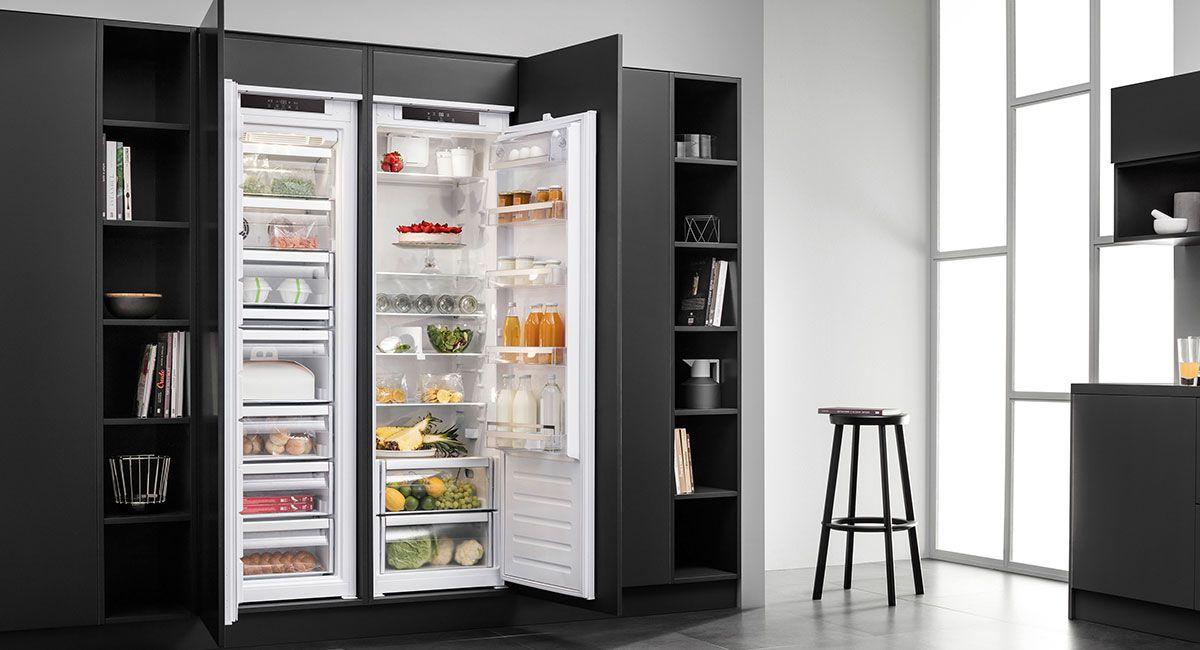 Amerikanischer Kühlschrank Einbauküche : Kühlschrank küche kaufen küchenstudio seevetal meyer küchen