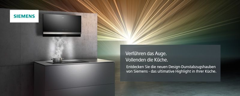 Design Dunstabzugshauben Von Siemens Kuche Kaufen Kuchenstudio